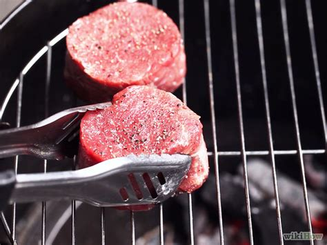 grill filet mignon how to grill filet mignon 14 steps with pictures wikihow