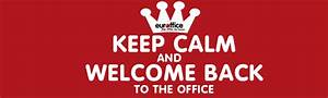 Welcome Back To The Office - Do You Have Everything You
