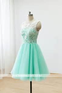 mint bridesmaids dresses custom lace bridesmaid dress prom dress mint green dress knee dress 2268646 weddbook