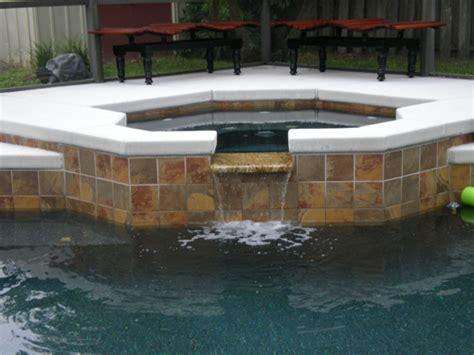 tile  spillway  phase pool remodeling