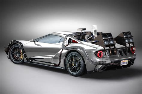future ford ford gt turned back to the future time machine might be