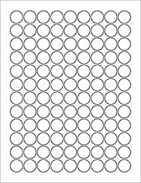 Hershey Labels Template by Hershey Template Ol5275 0 75 Quot Circle Blank Label