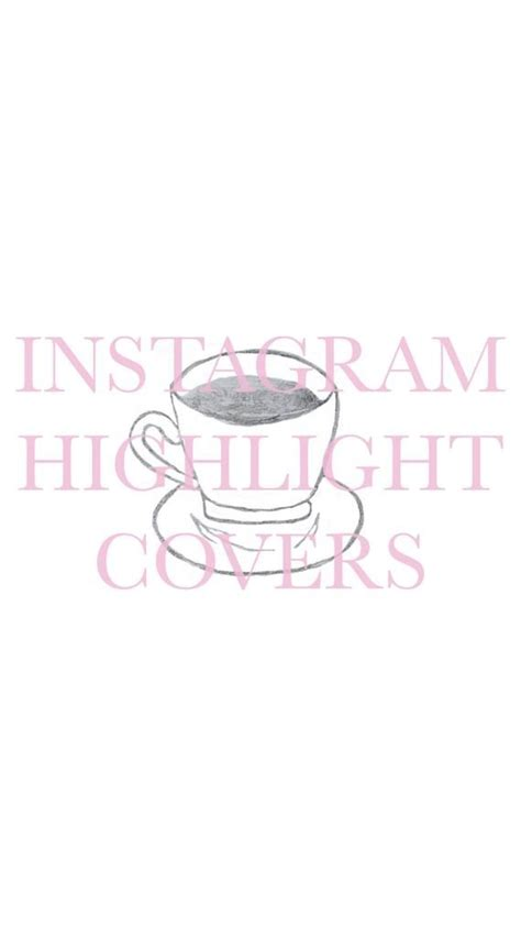 They feature instagram stories that once you've got some highlights added, you'll probably want to add some nice highlight covers or thumbnails so they look great at the top of your profile. Coffee Cup Icon, Highlight Cover for Instagram, Instagram Stories, Hand Drawn Illustration ...