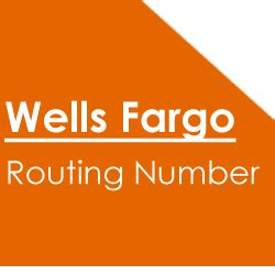 Wells Fargo Routing Numbers You Should Check