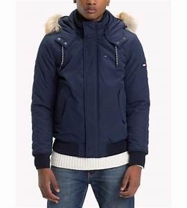 Blouson Homme Bleu Marine : blouson bomber tommy hilfiger jeans pour homme bleu marine ~ Melissatoandfro.com Idées de Décoration