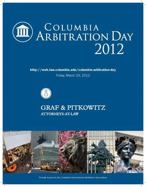 program columbia arbitration day columbia law school