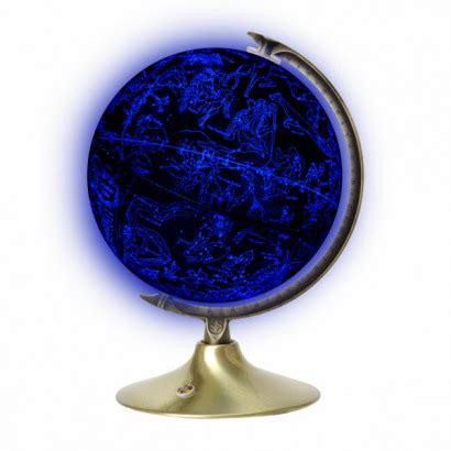 earth constellation illuminated globe
