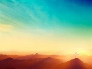 Risen Easter Sunday Church Worship Background ...