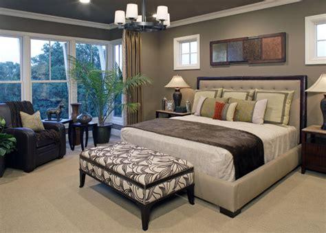 Master Bedroom Window Treatments Image