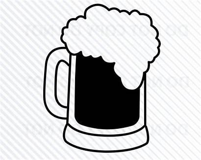Beer Cricut Mug Svg Clipart Stein Clipground