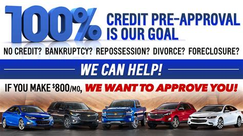 The only guaranteed approval credit card is secured credit card. Guaranteed Credit Approval | Chevy Financing in Columbus, OH