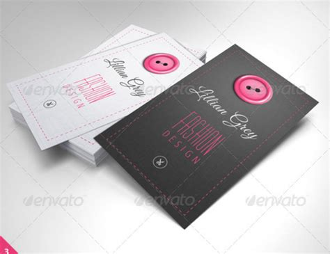 fashion designer business card templates ai pages