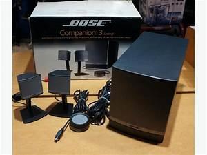 Bose Companion 3 Series 2 Multmedia Speaker System W   Sub