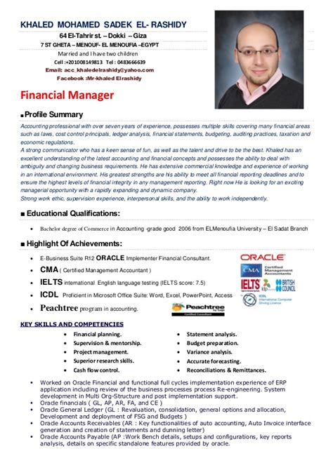 resume financial manager top 8 crm manager resume sles