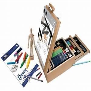 Pro Art Kitcase : art kit 124 pic professional easel young artist pencil case sketch dr ~ Sanjose-hotels-ca.com Haus und Dekorationen