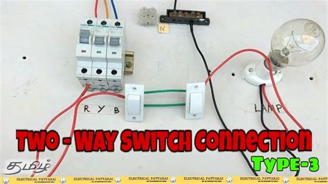 Two Way Switch Connection Type Animation Explained