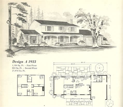 farmhouse plans vintage house plans 1933 antique alter ego