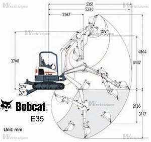 Bobcat E35 - Bobcat - Machinery Specifications - Machinery
