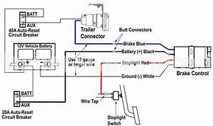 Wiring Diagram For Brake Controllers  U2013 Trailer Spares Direct