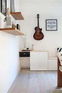 Ikea Besta Wohnzimmer Ideen : do it yourself aus besta und holz wird ein sideboard mit sitzbank ~ Orissabook.com Haus und Dekorationen