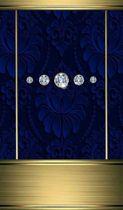 Bling Diamond Phone Luxury Backgrounds Hipster Antique