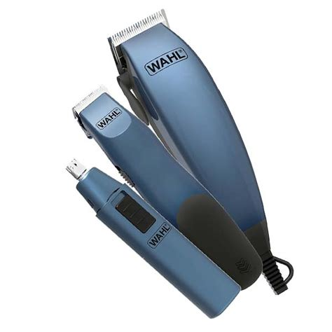 wahl mens grooming gift set clippers beard trimmer nasal trimmer