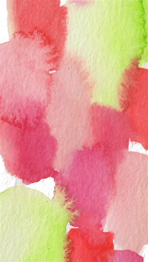 Download free watercolor wallpapers 2.0 for your android phone or tablet, file size: Freebie Watercolor Wednesday: Phone Wallpapers ...