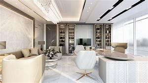 Office, Interior, Design, In, Doha, Qatar