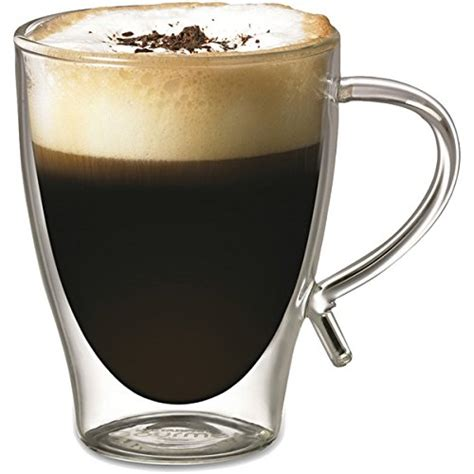 Available in plain gloss black and the very popular black with swirl pattern. Top 20 Best Double Wall Glass Coffee Cups 2019