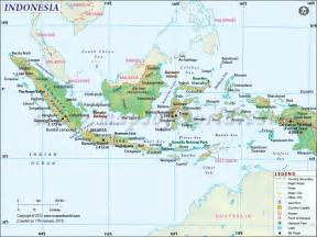 Indonesia Map, Map of Indonesia Indonesia