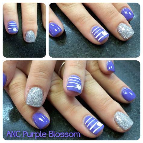 anc nail designs anc purple hearts amazing nails concept anc nails