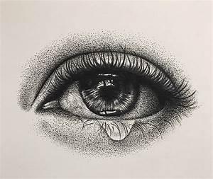 Teary Eye Drawing