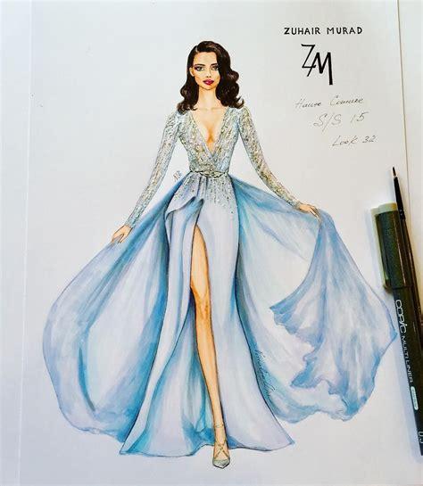 Fashion Design Dresses by Sue9160 Fashion Illustrations