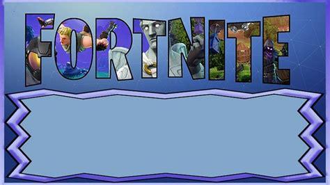 fortnite invitation templates  epic party printable