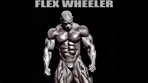 bodybuilding motivation flex wheeler  king  simmetry