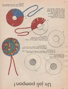 Faire Un Pompon Avec De La Laine : tuto pompon laine bout de laine bidules pinterest ~ Zukunftsfamilie.com Idées de Décoration