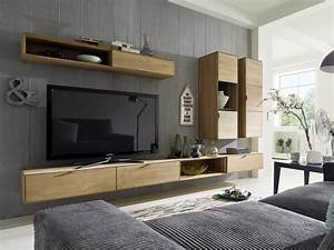 Tv Möbel Mit Integriertem Soundsystem : tv wohnwand lyon wildeiche massiv pickupm ~ Bigdaddyawards.com Haus und Dekorationen
