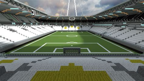Ingresso Juventus Stadium Juventus Stadium Minecraft Project