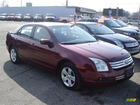 2006 ford fusion paint colors