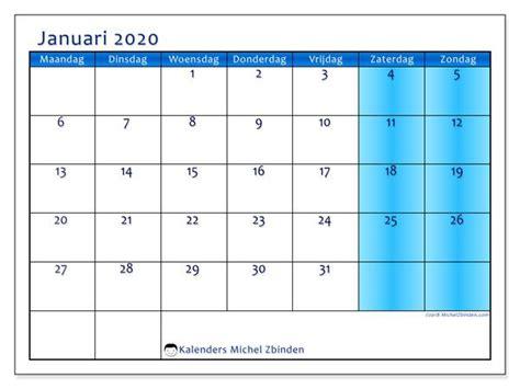 kalender januari  mz kalender aantekeningen en