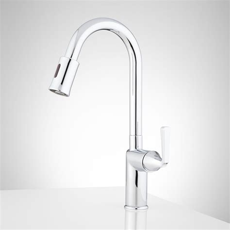 touchless kitchen faucet mullinax single touchless kitchen faucet kitchen