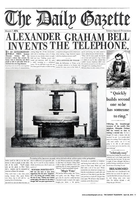 Telstra T Hub And Alexander Graham Bell The Inspiration Room