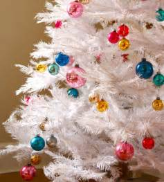 christmas decoration ideas for white christmas trees before and after