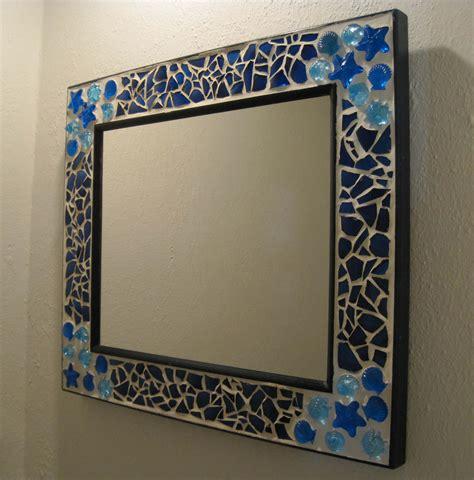 mosaic mirror and clock bonny s