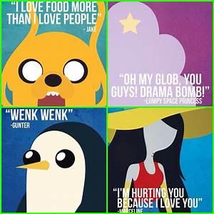 Adventure Time Little Quotes! Jake-LSP-Gunter-Marceline ...