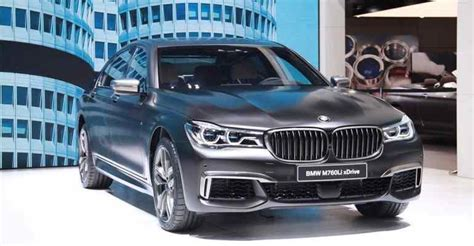 20182019 Bmw M760li Xdrive  The Flagship 7series 2018