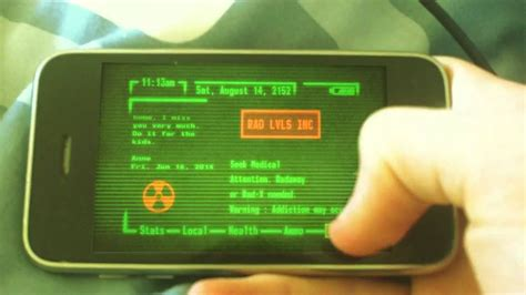 fresh pip boy  app iphone positive quotes