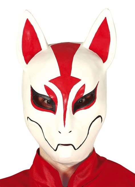 Lateksowa maska LIS maska zwierzęcia / Akcesoria - sklep PartyBox.pl
