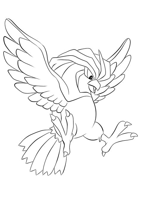 pidgeotto  pokemon generation   pokemon coloring pages kids coloring pages