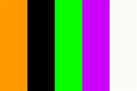 purple and orange make what color how orange black and purple became colors